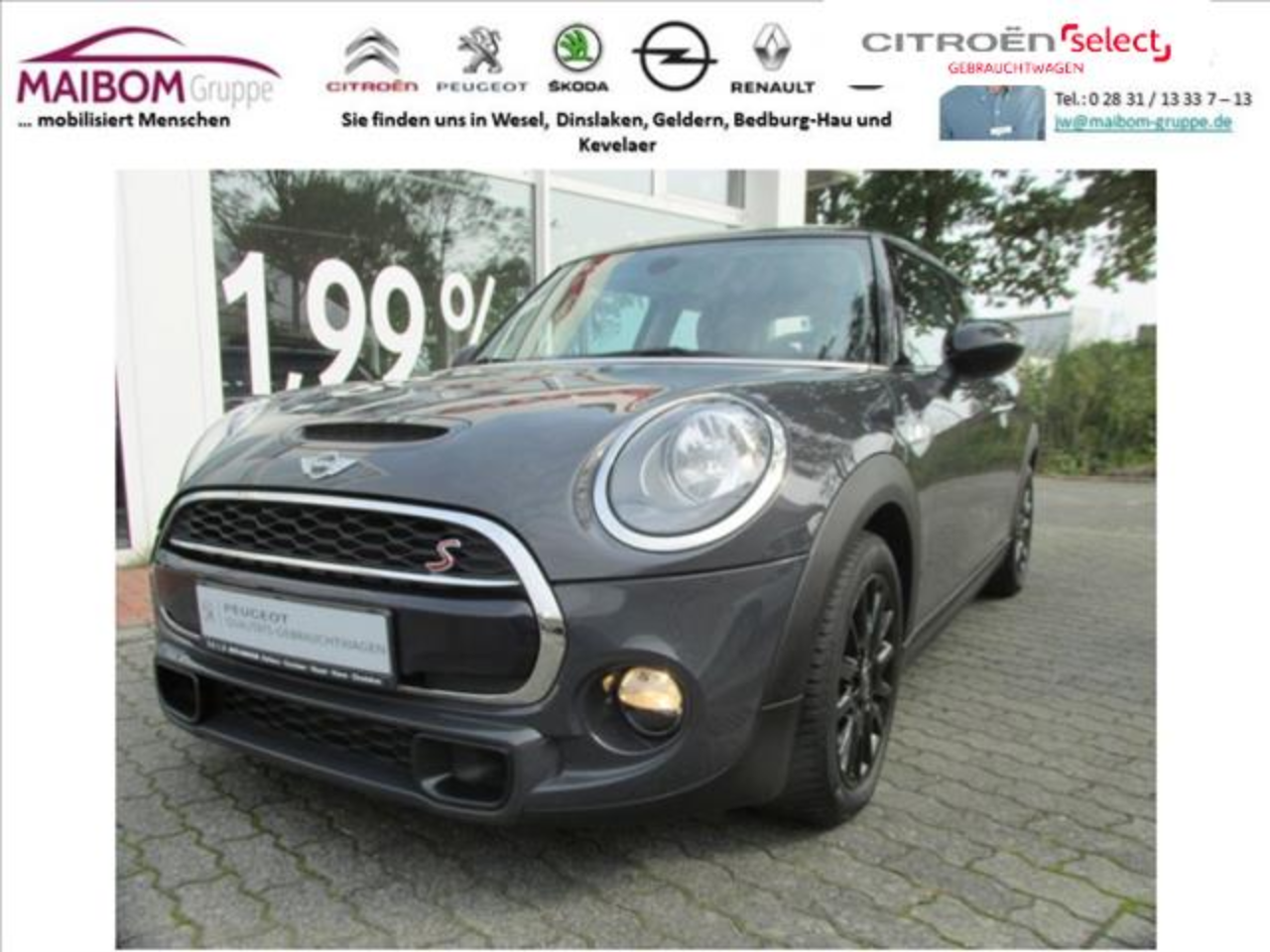 Mini Cooper SD Sport-Aut.