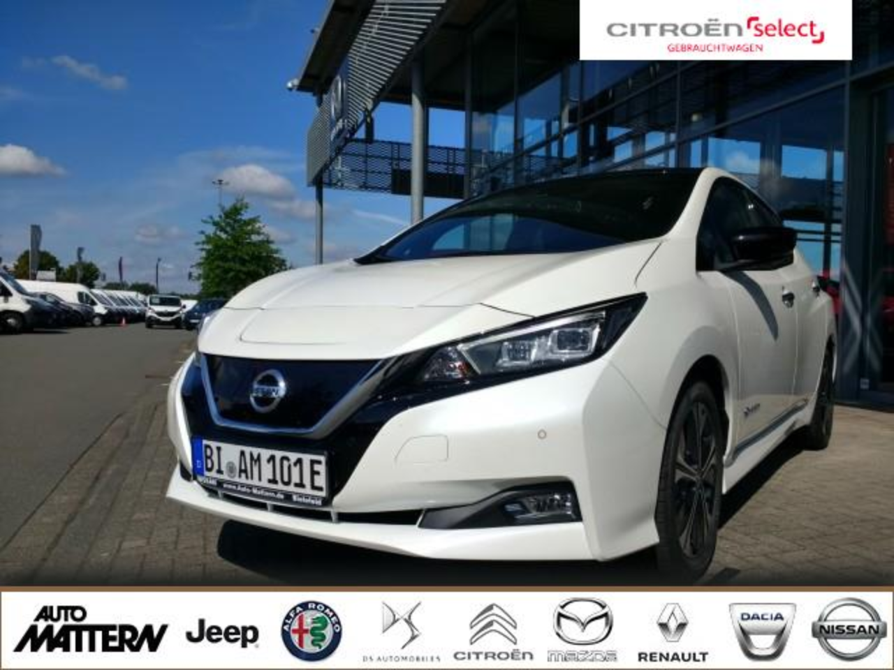 Nissan Leaf 40kW N-Connecta Winterpaket LED