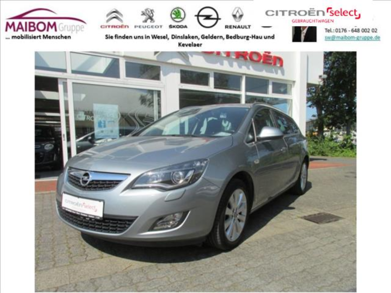 Opel Astra 1.4 Turbo Sports Tourer Automatik Innovation