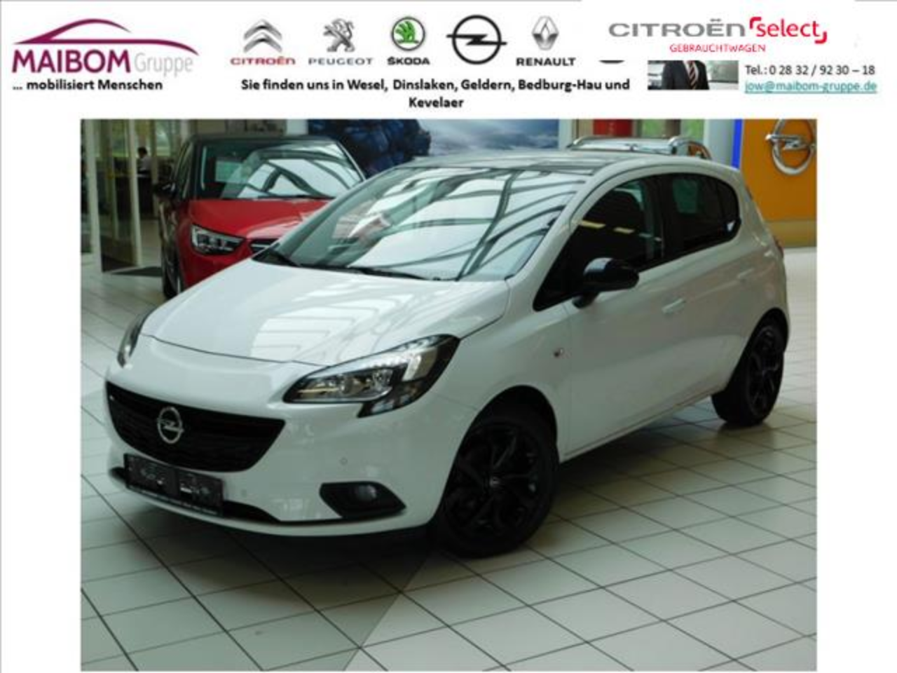 Opel Corsa 1.4 Color Edition 5 Jahre Garantie