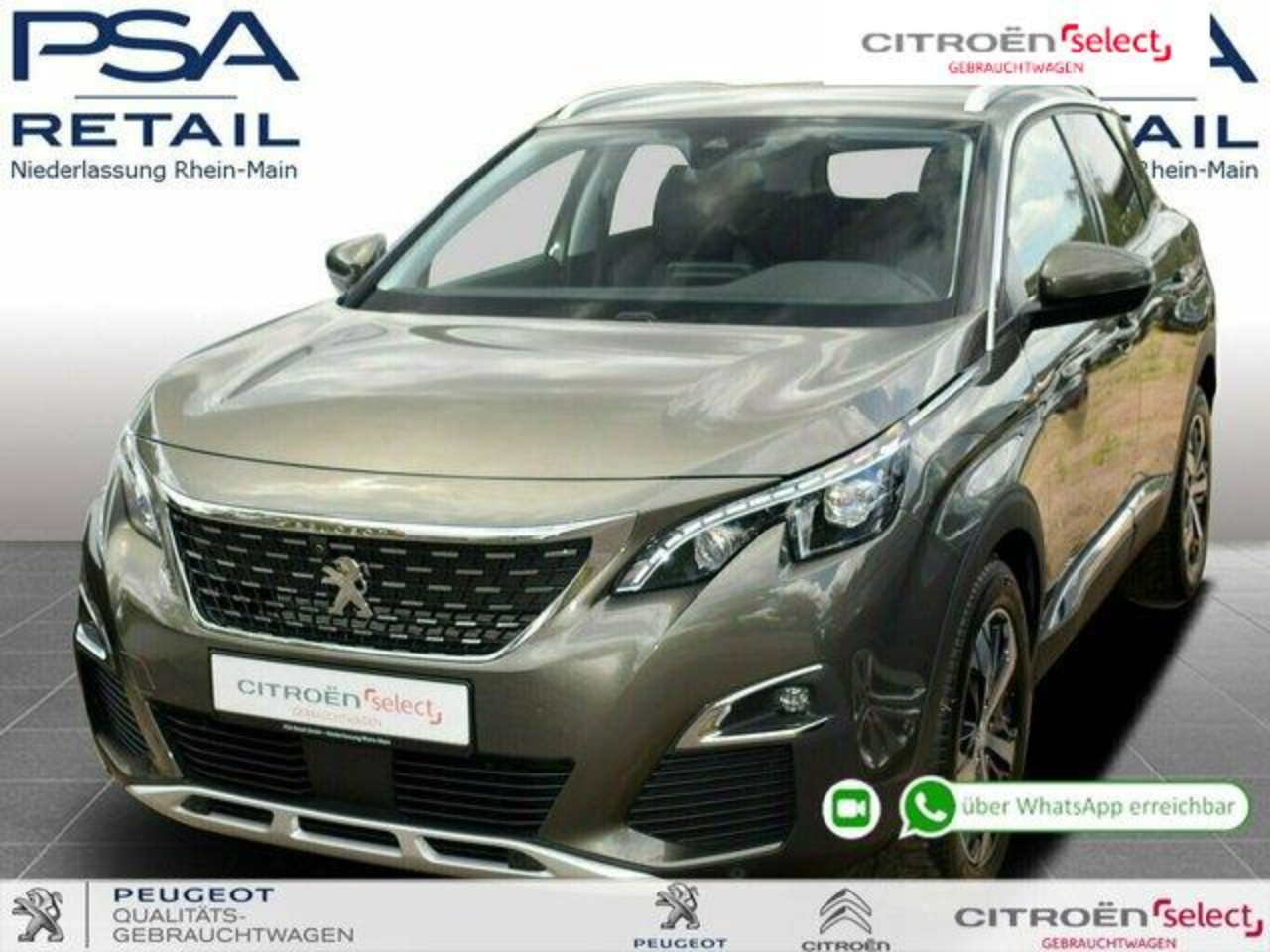 Peugeot 3008 BlueHDi 180 S&S EAT8 Allure *3D-Navi*FullLED*GRIP*