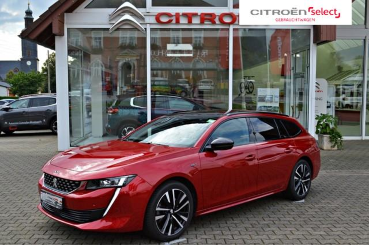 Peugeot 508 SW PureTech 225 EAT8 GT Panoramadach Full LED...