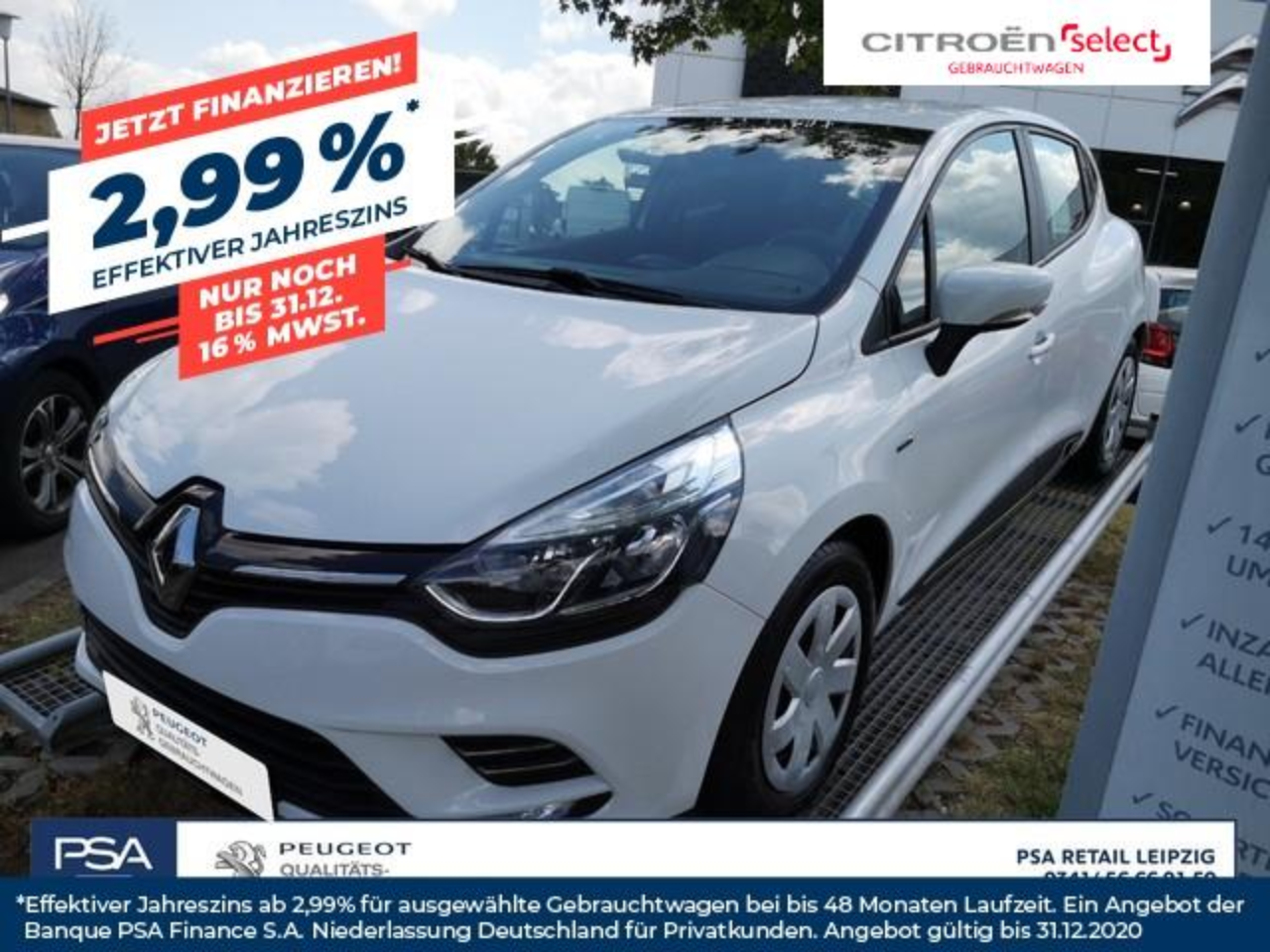Renault Clio (Energy) TCe 90 Start & Stop Trend