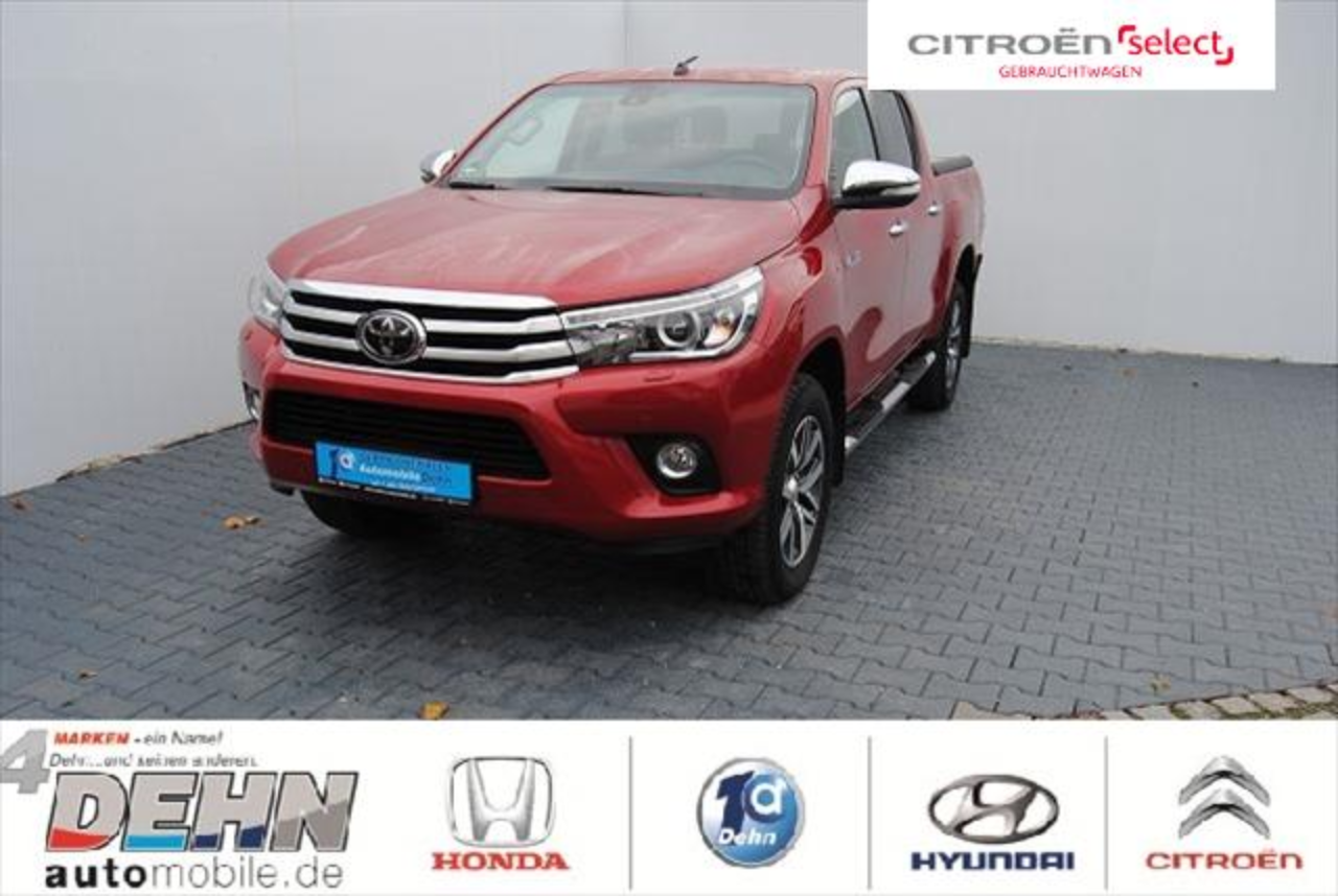 Toyota Hilux 4x4 Double Cab Executive LED/Navi/AHK/Trit