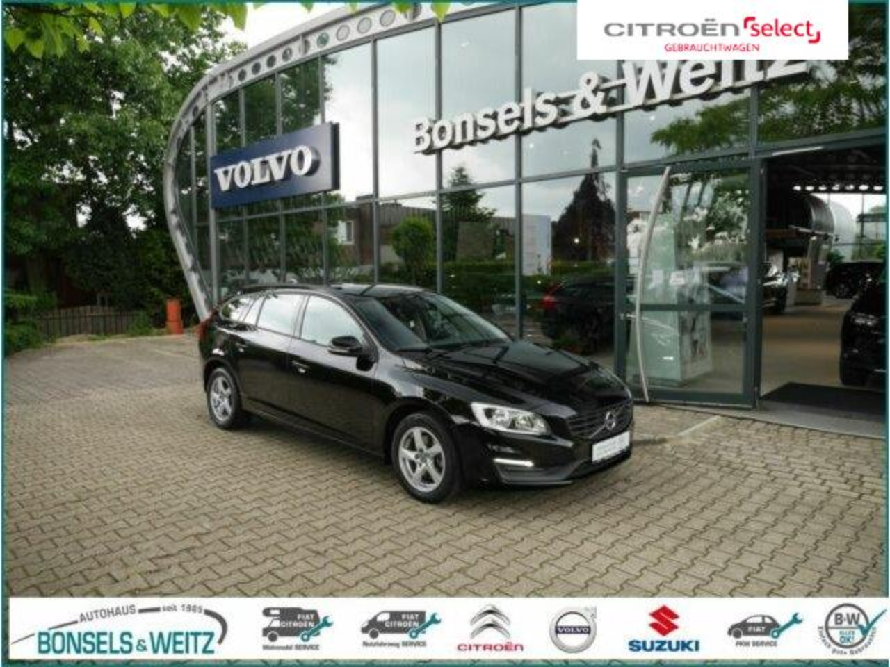 Volvo V60 D3 LINJE BUSINESS Navi Bluetooth Einparkhilf