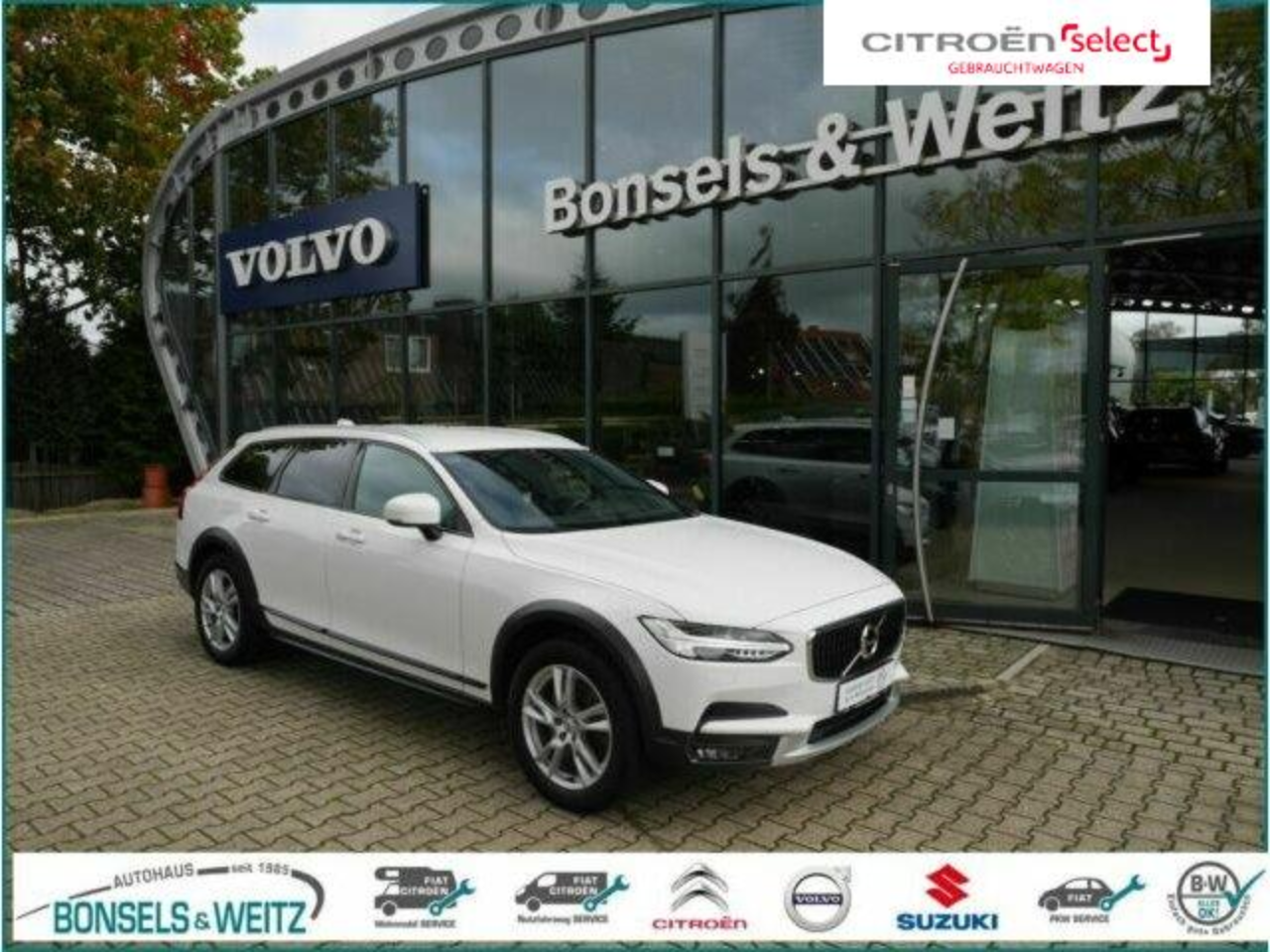 Volvo V90 CROSS COUNTRY D4 AWD GEARTRONIC LED Leder Na