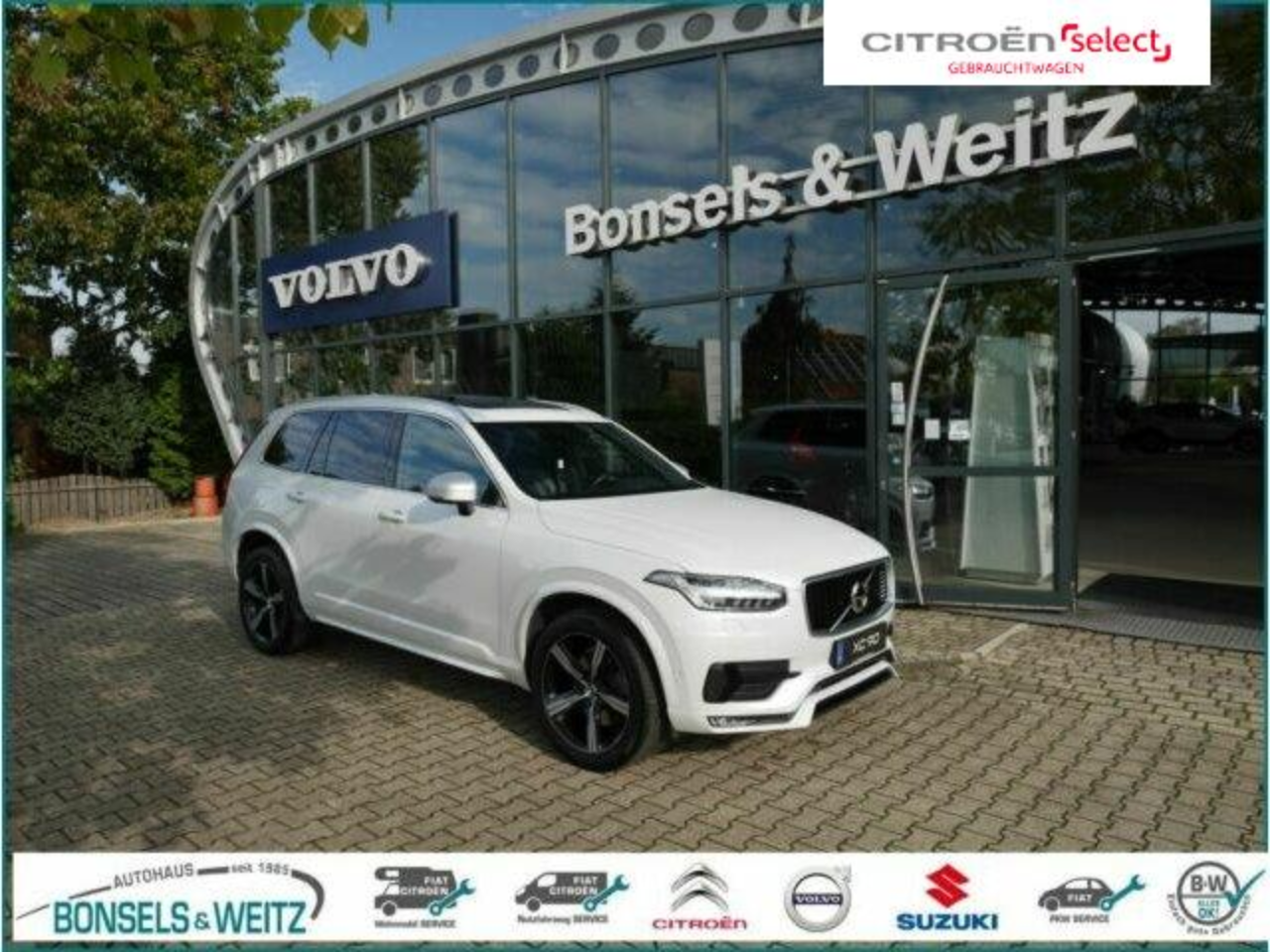 Volvo XC90 D5 AWD GEARTRONIC R-DESIGN 7-SITZER SD LED