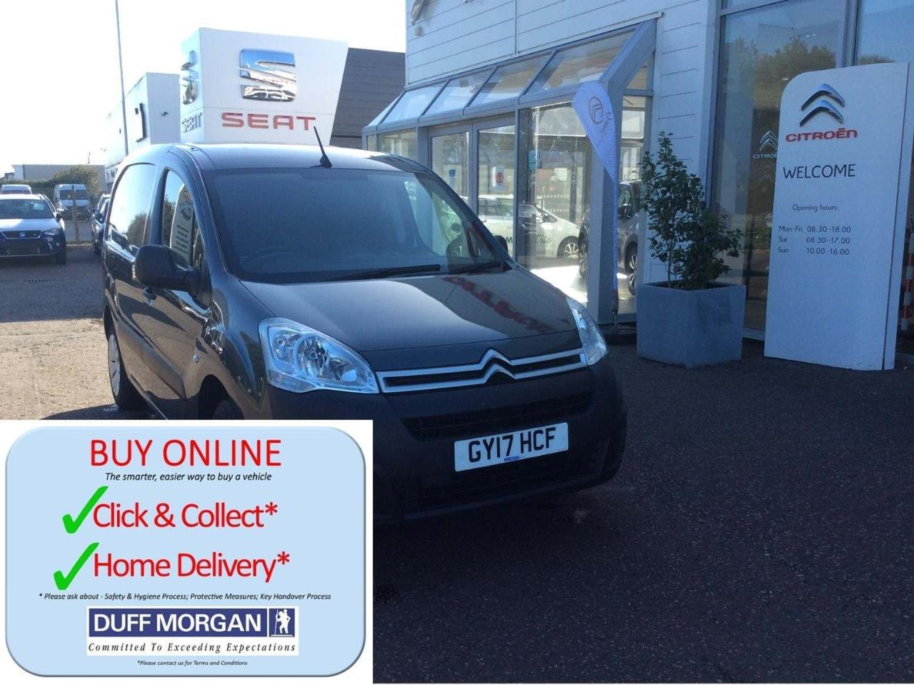 Citroën Berlingo 1.6 BlueHDi 625 Enterprise L1 5dr