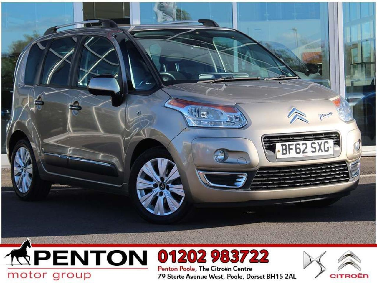 Citroën C3 Picasso 1.6 HDi 8V Exclusive 5dr