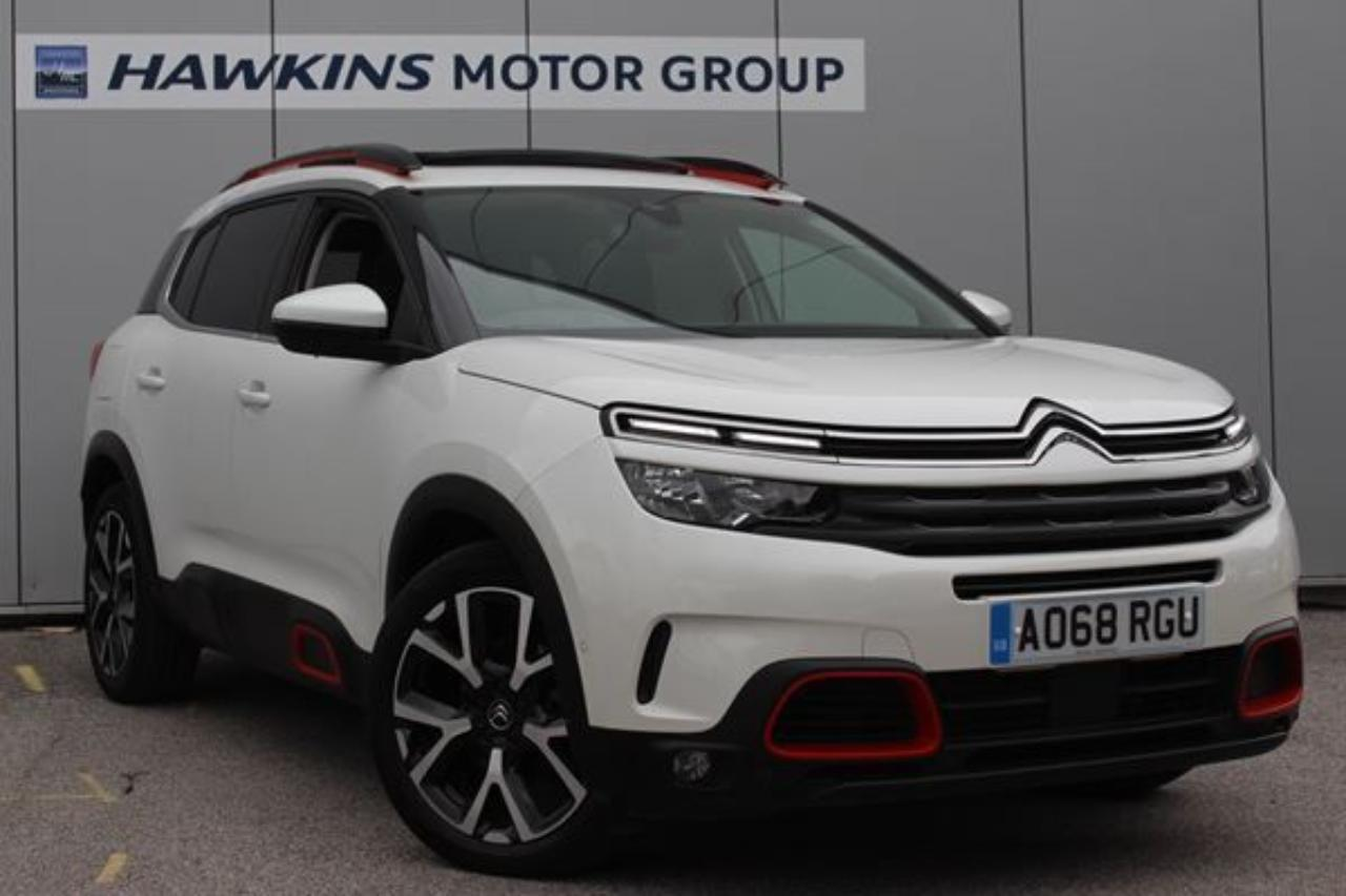 Citroën C5 Aircross SUV C5 AIRCROSS 2.0 BHDi Flair Plus EAT8 180 **HOME DELIVERY AVAIL