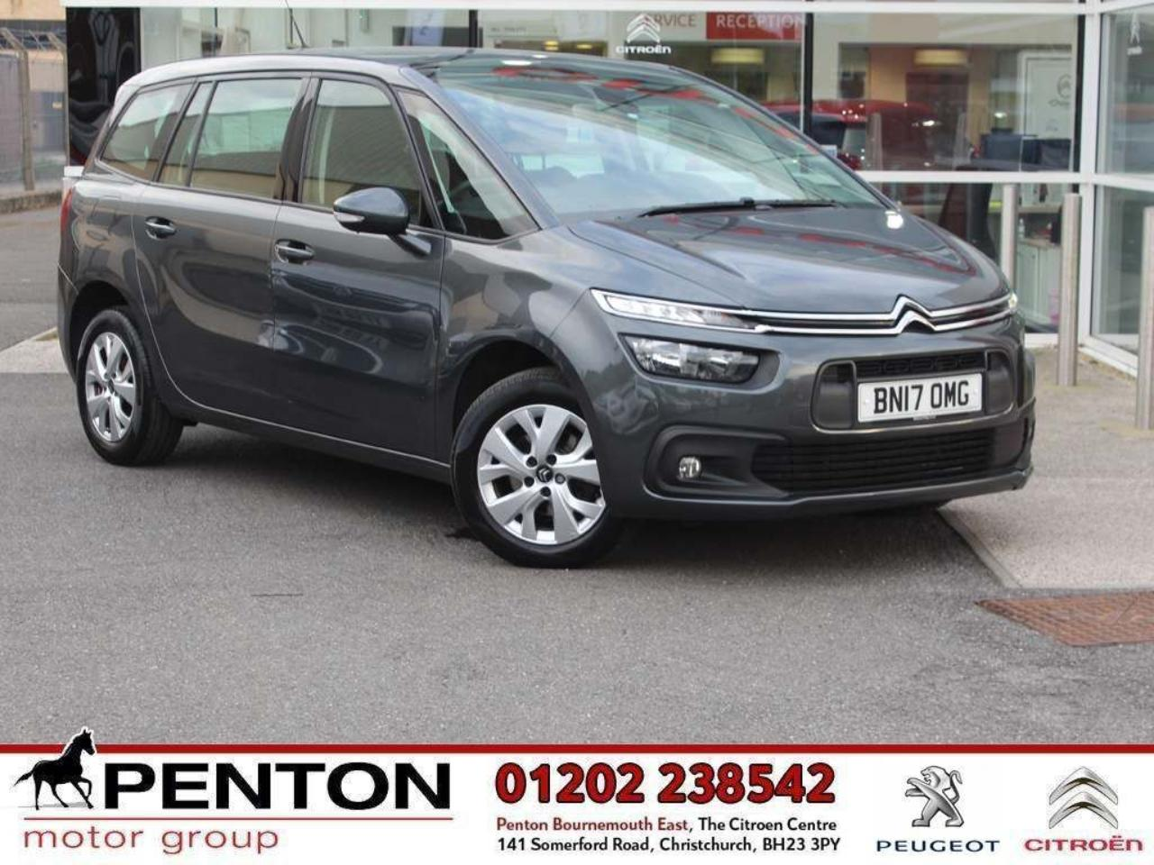 Citroën Grand C4 Picasso 1.6 BlueHDi Touch Edition (s/s) 5dr