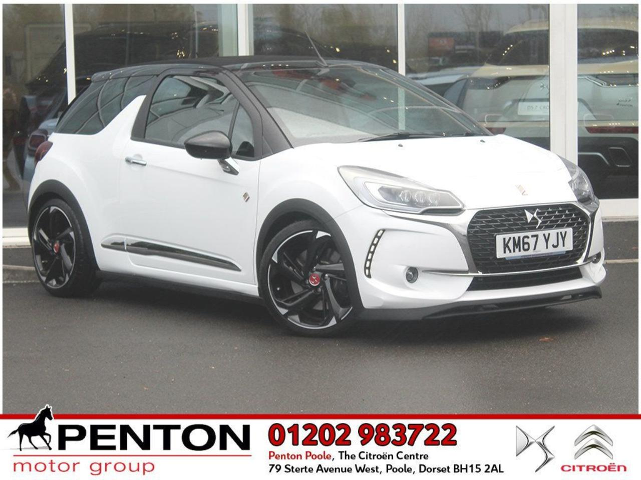 Ds DS3 Cabrio DS 3 CABRIOLET 1.6 THP Performance Cabriolet (s/s) 2dr