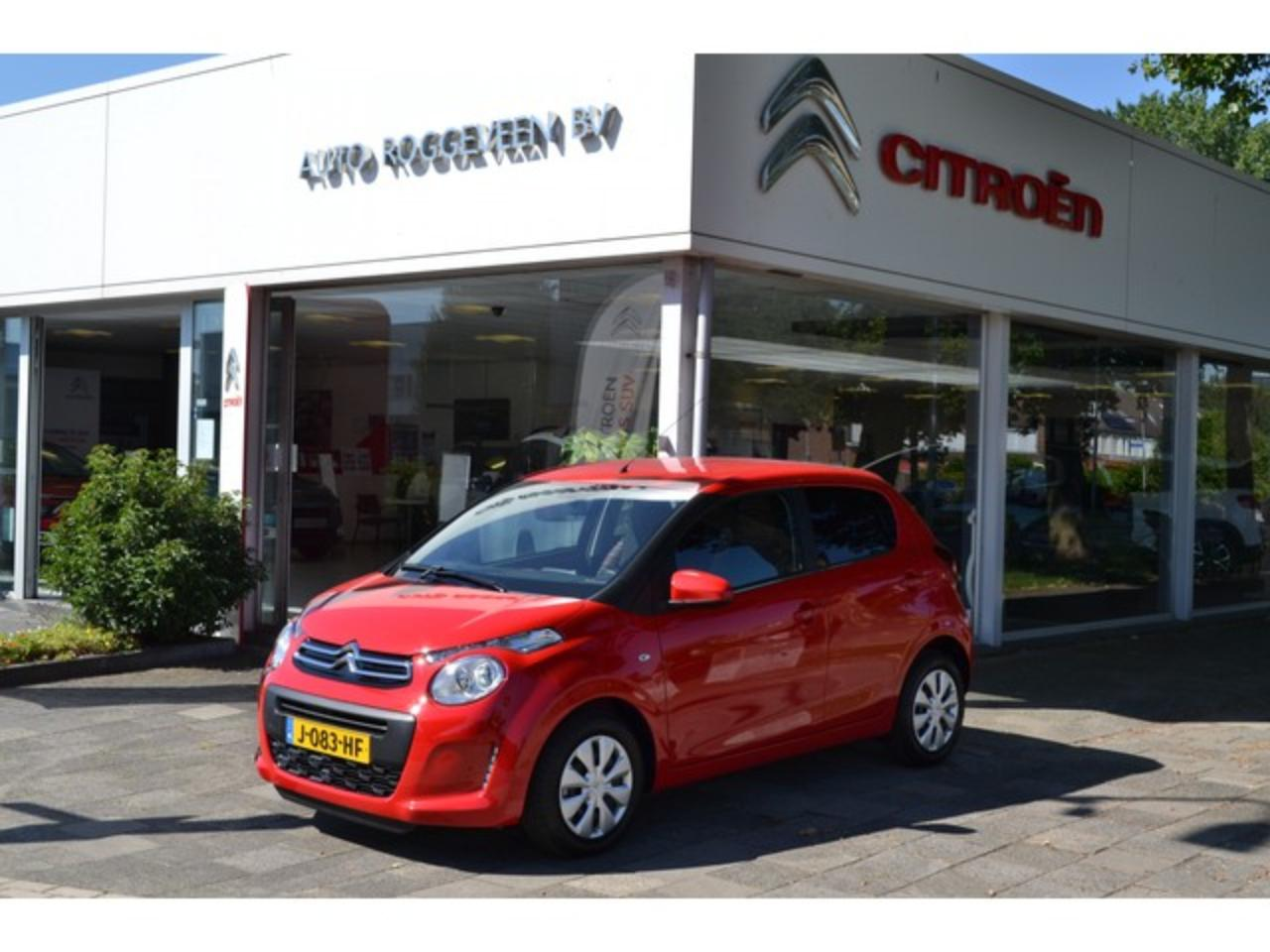 "Citroën C1 1.0 VTi 72pk Feel Cool Edition 7""touchscreen, Park"