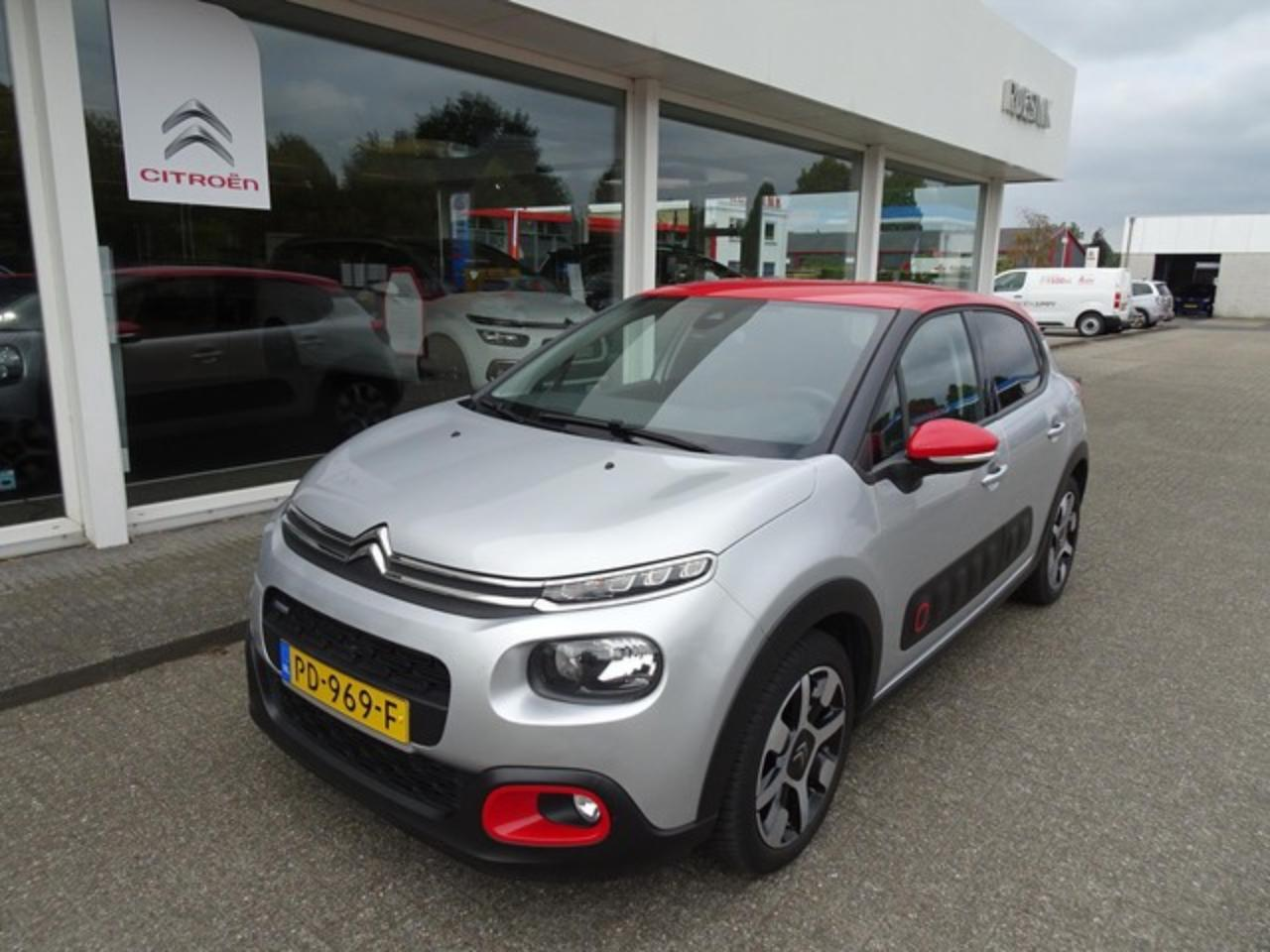 Citroën C3 1.2 82PK SHINE PACK SMILE/ALL SEASONS RIJKLAAR!
