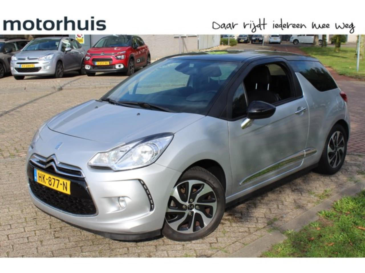 Ds DS 3 1.6 BlueHDi 100pk So Chic + Navigatie