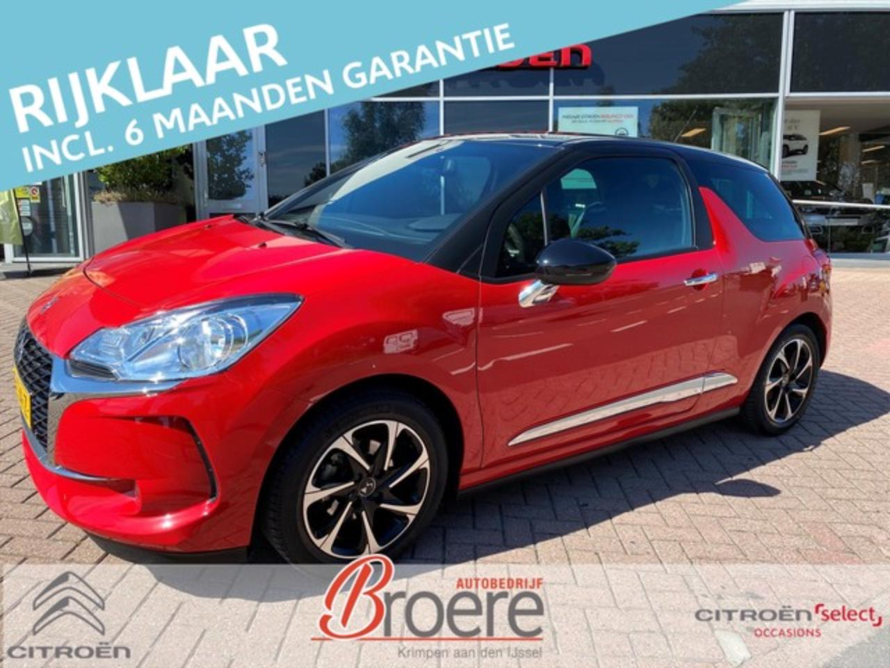Ds DS 3 110pk Automaat So Chic Pack Perfo LM CLIMA