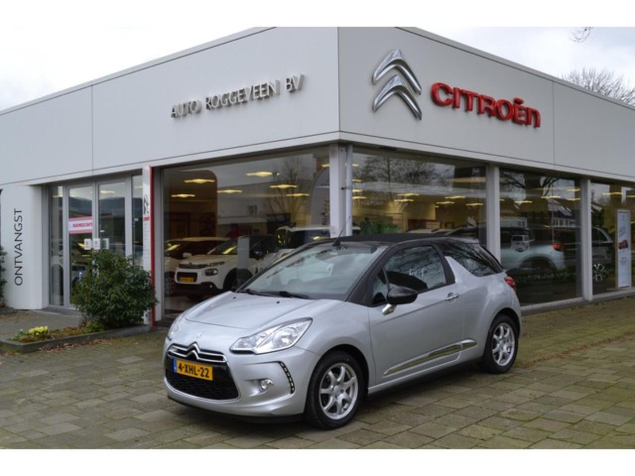Ds DS 3 Cabrio DS 3 CABRIOLET 1.2 VTi 82pk So Chic Navigatie, Pack Perfo, LM Vel