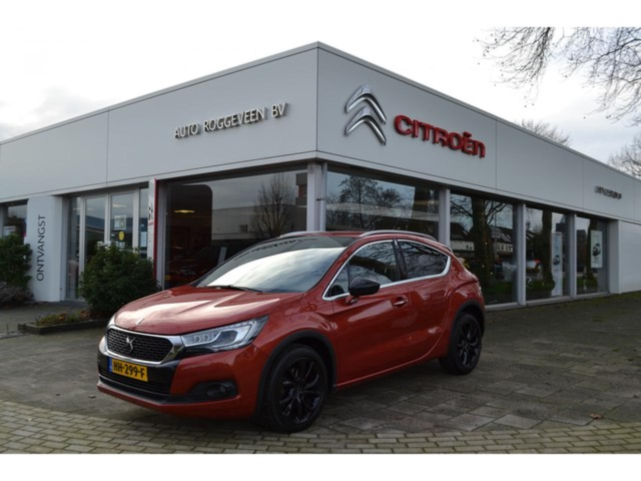 Ds DS 4 Crossback 1.6 165pk Automaat Chic Pack Detection, Navigatie,