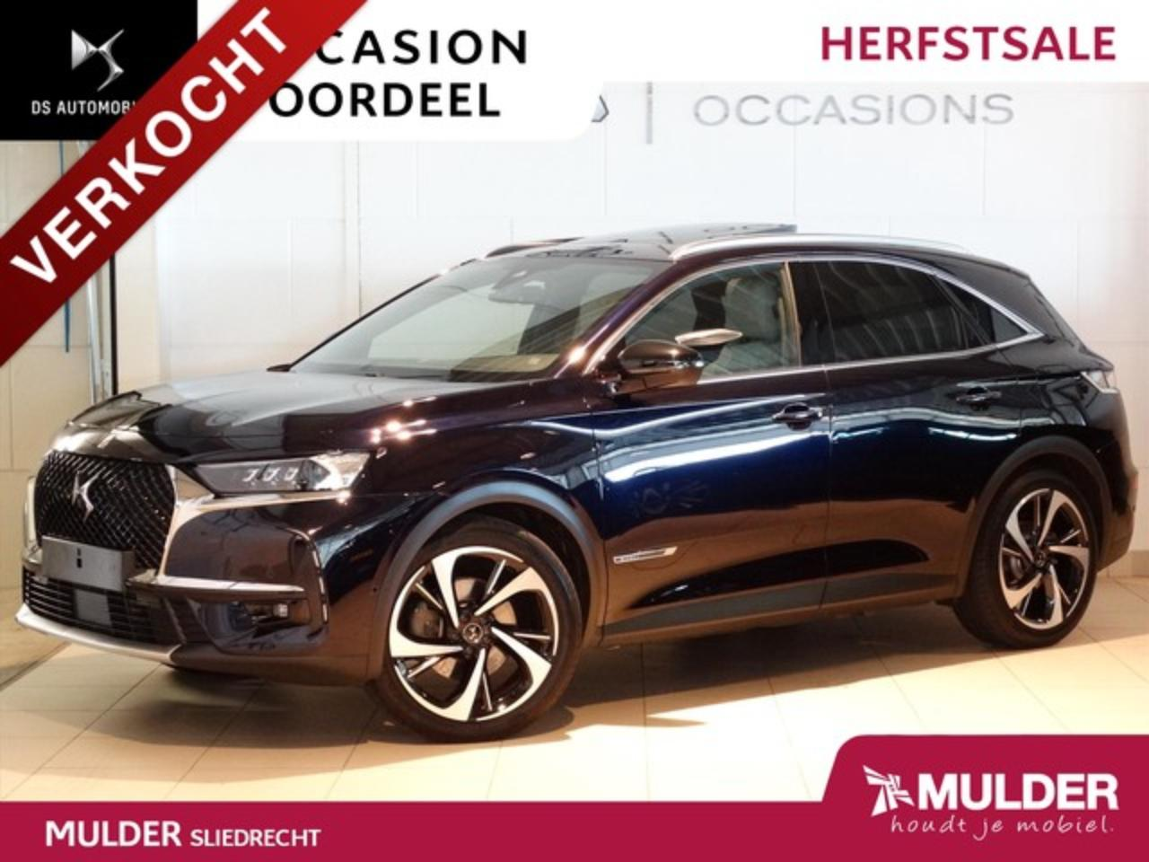 Ds DS 7 Crossback GRAND CHIC RIVOLI E-TENSE 4x4 300pk EAT8 PHEV SCHU
