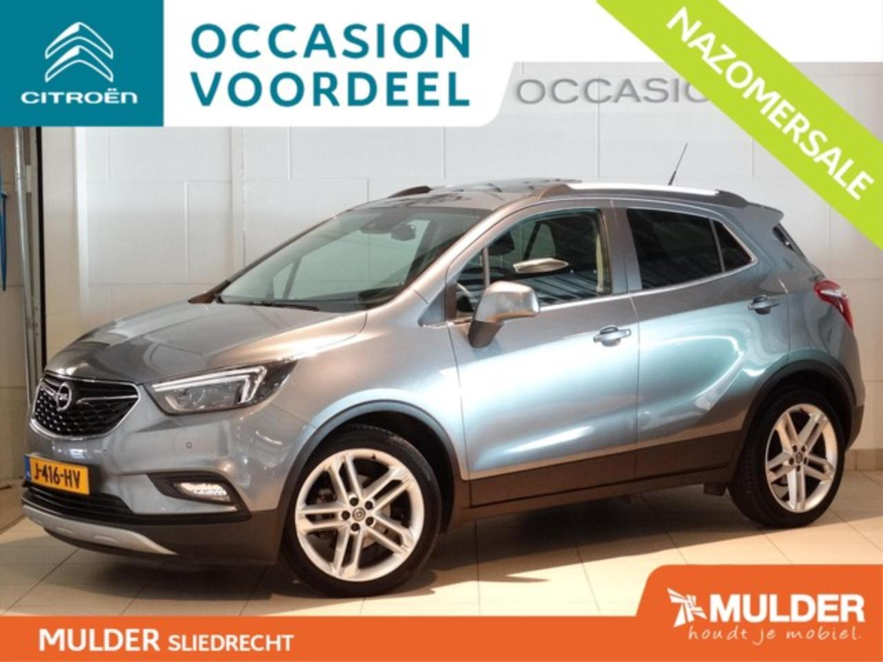 Opel Mokka X SUV INNOVATION 1.4 Turbo 140pk S&S H6 NAVI | SCHUI