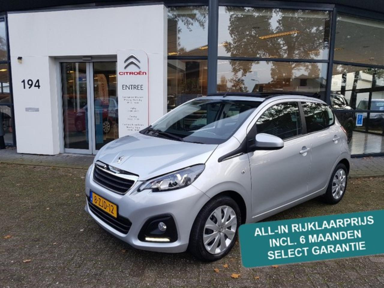 Peugeot 108 VTI 68 PK Active Top Cabrio | elektr. canvas dak |
