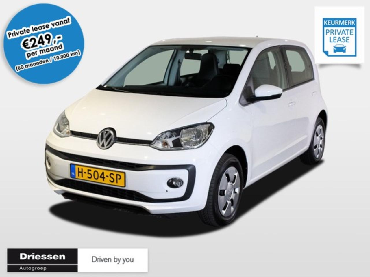 Volkswagen Up 75pk Move Up! Automaat Private Lease vanaf € 249,=