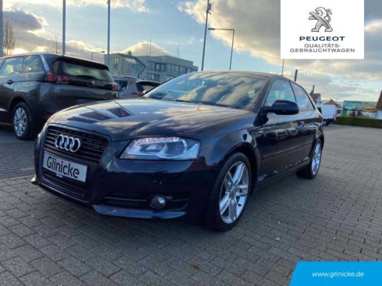 Audi A3 1.4 TFSI Attraction Xenon Multif.Lenkrad Klimaauto