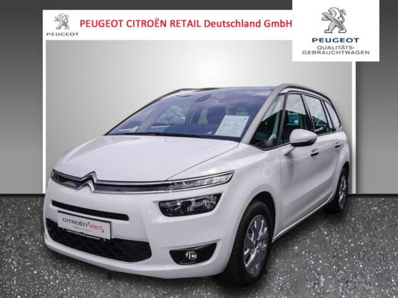 Citroën C4 Picasso Grand  Picasso Selection BlueHDi 120 Navi EPH SHZ