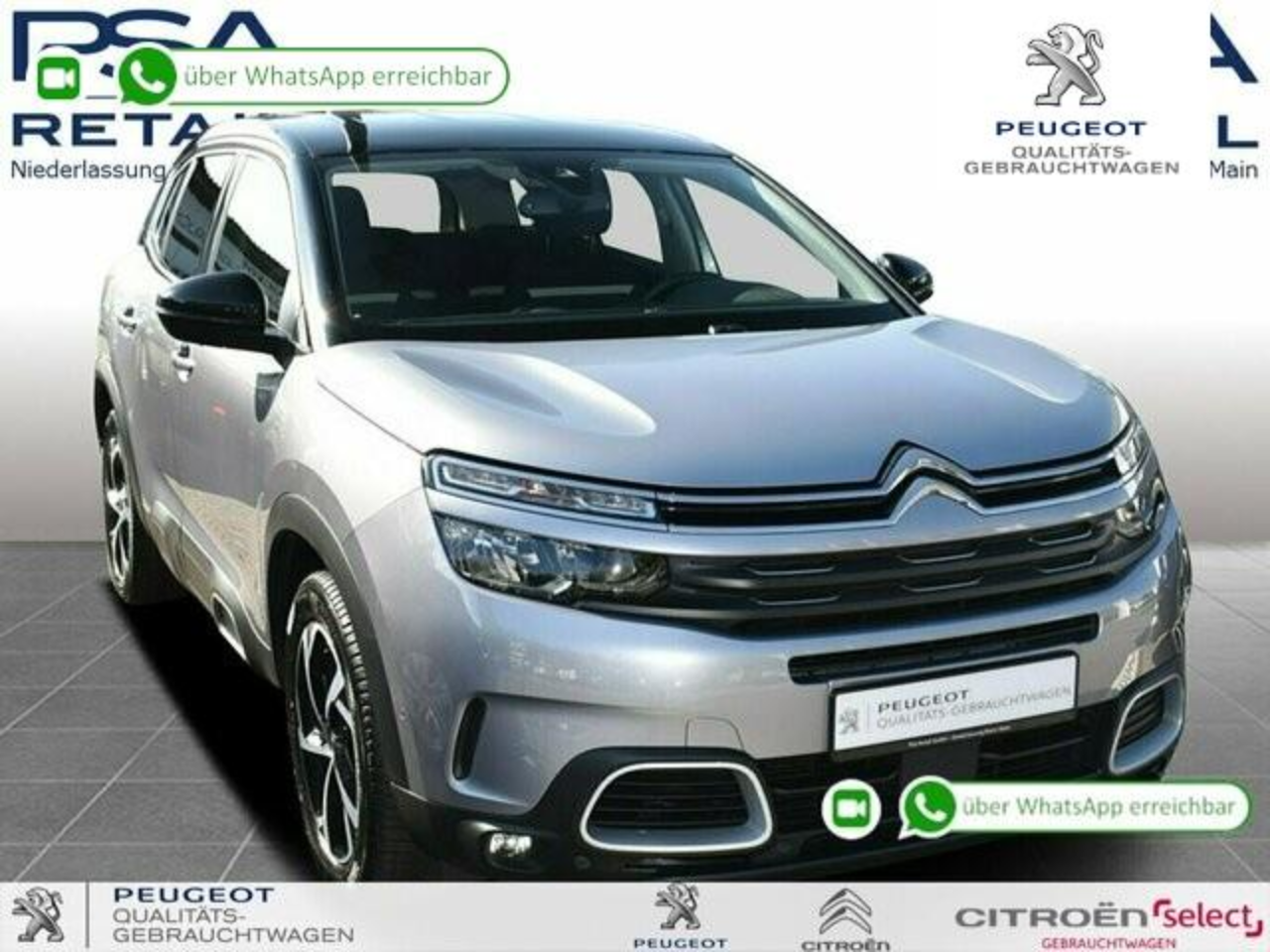 Citroën C5 Aircross Pure Tech 130 S&S FEEL *NAVI*SITZH.*KAMERA*