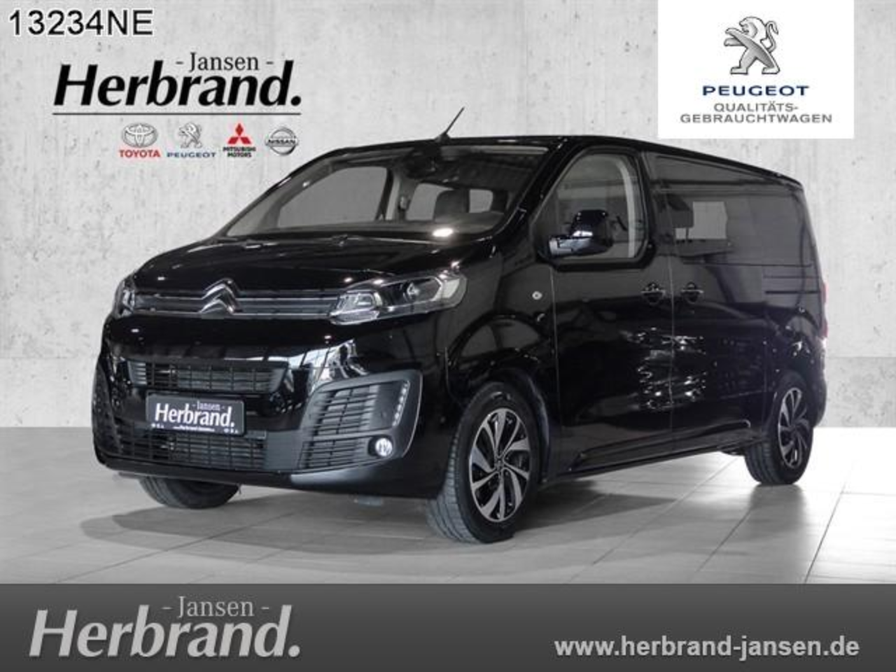 Citroën Spacetourer M 2.0 BlueHDi 180 EAT8 Shine
