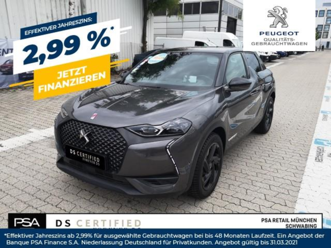 Ds DS 3 Crossback PureTech 100 PERFORMANCE LINE