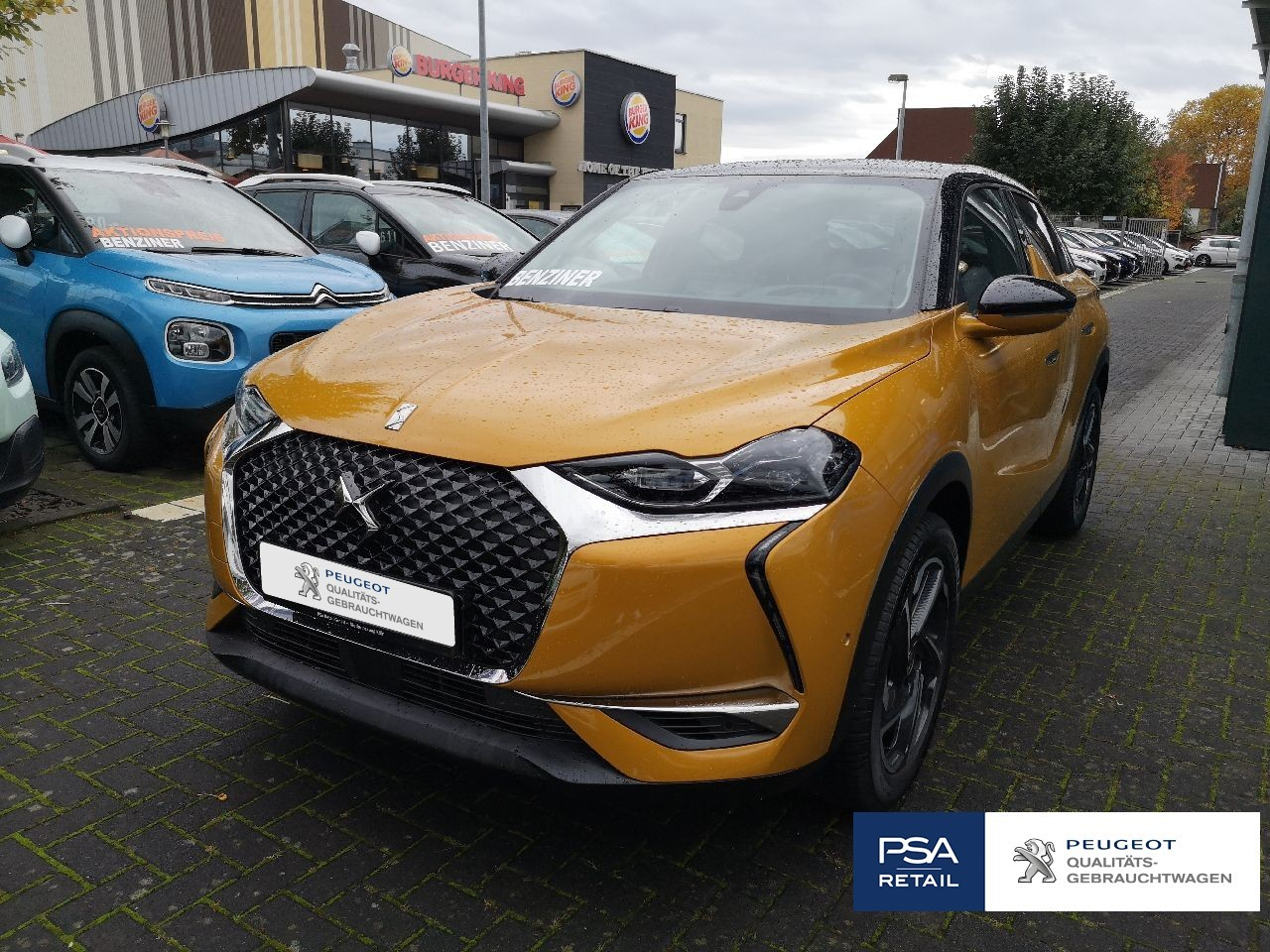 Ds DS 3 Crossback SO CHIC 130 EAT8 Leder Navi ACC FullLED EPH HU