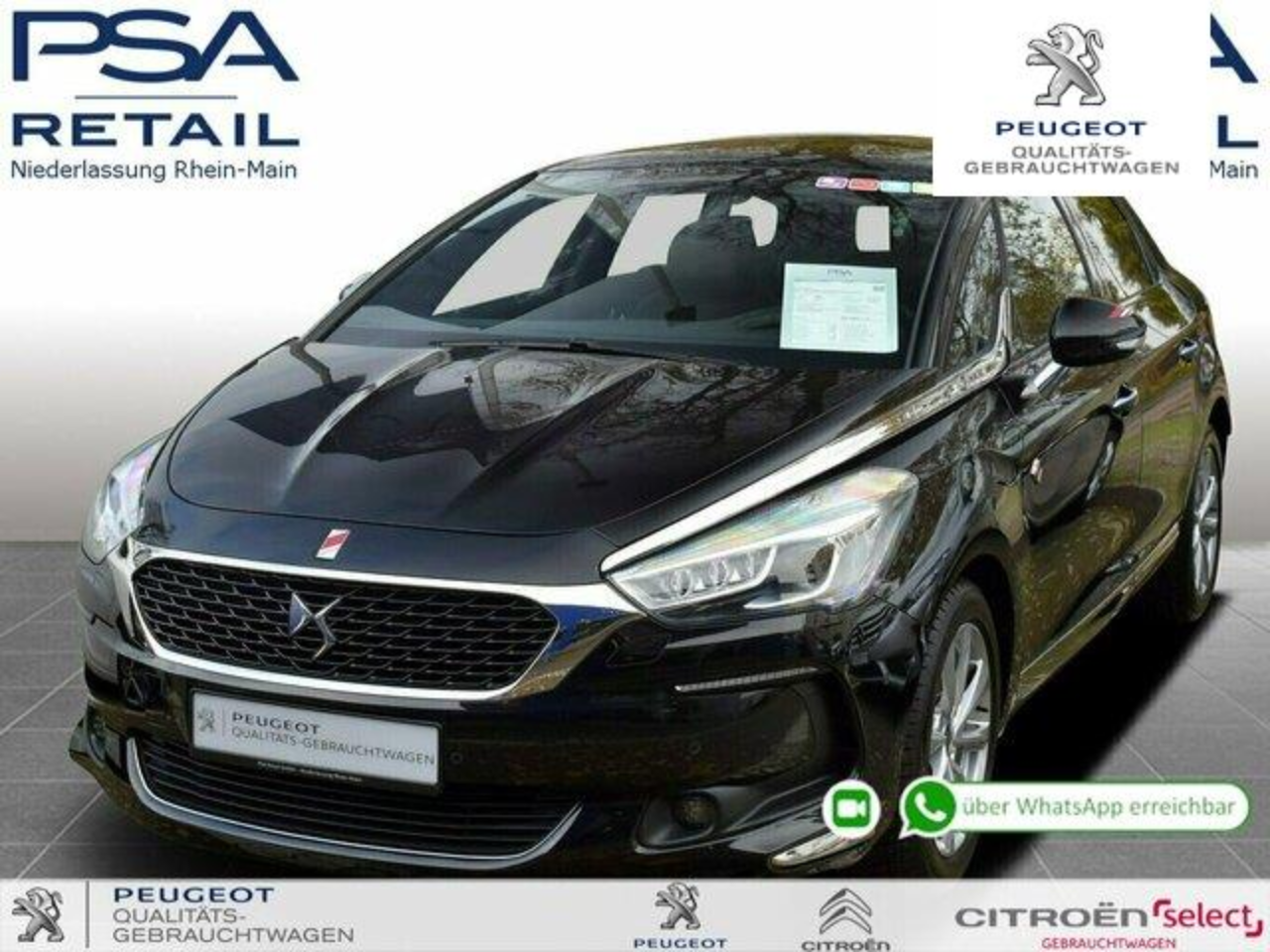 Ds DS 5 BlueHDi 180 DS Performance Line*Navi*Pano*19''*