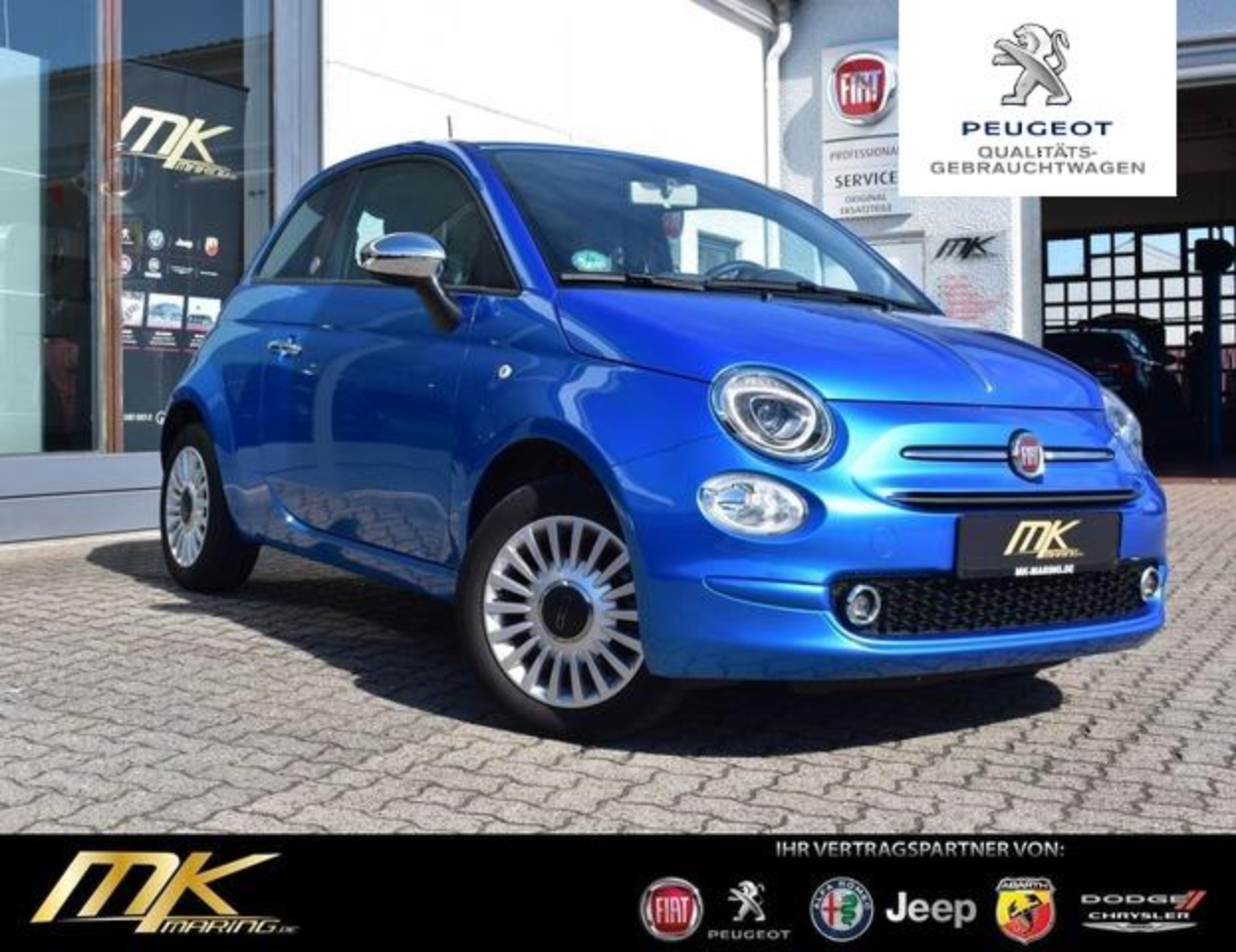 Fiat 500 1.2 MIRROR *CARPLAY*1.HAND*SCHECKHEFT*ALU*