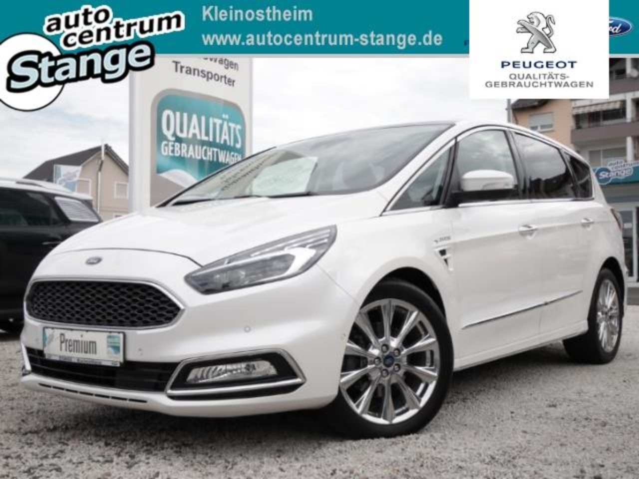 Ford S-Max Vignale Ruckfahrkam. Panorama Beheizb. Frontsch.