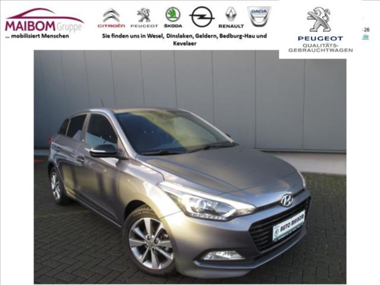 Hyundai I20 1.2 Passion Plus*NAVI*Bluetooth*Kamera*SHZ