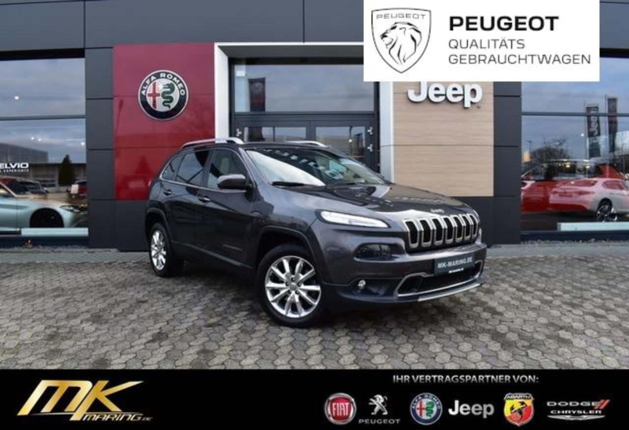 Jeep Cherokee Limited 2.2 M-Jet *AT9*NAVI*XEN*LEDER*