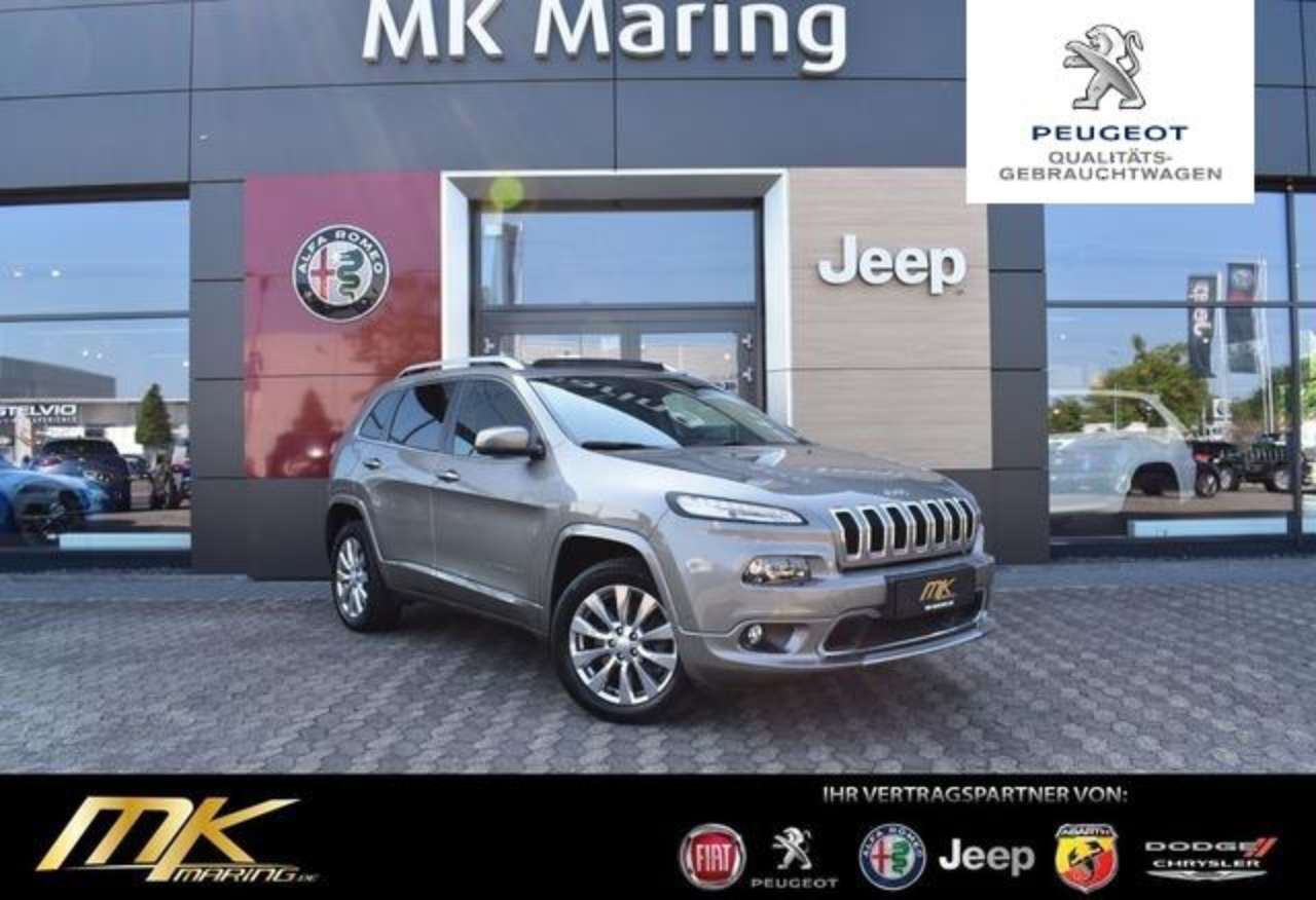 Jeep Cherokee 2.2 M-JET*4WD*OVERLAND*PANO*LEDER*VOLL*