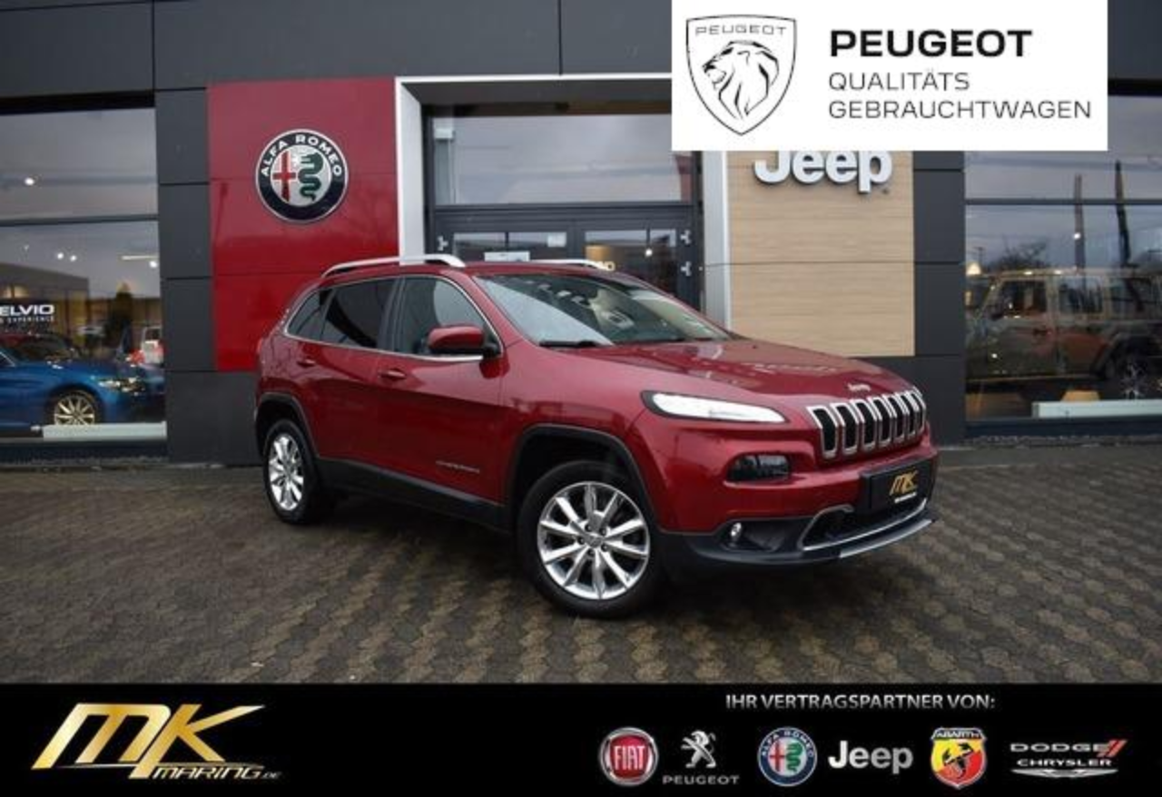 Jeep Cherokee Limited 2.2 M-Jet *AT9*NAVI*XENON*PANO*