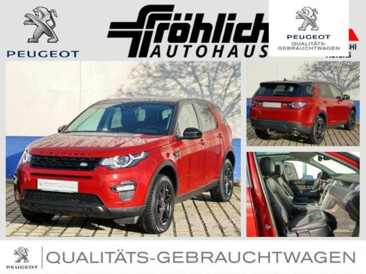 Land rover Discovery Sport EURO6-D Autom.4WD 8fach bereift