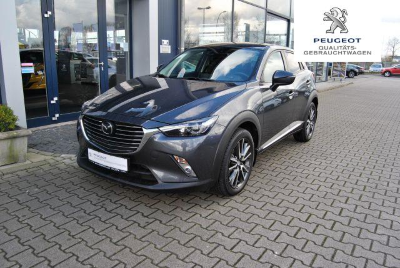 Mazda CX-3 Sports-Line  ACC  Nav  Kamera  1.Hd.