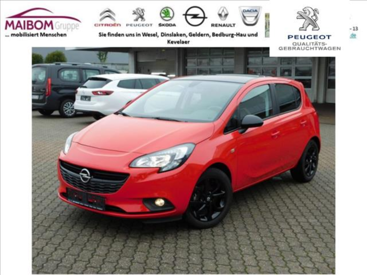 Opel Corsa 1.4 Color Edition WSS beheizbar Allwetter