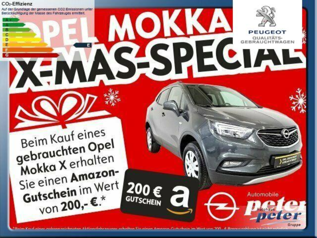 Opel Mokka X Design Line 1.4 Turbo 4x4