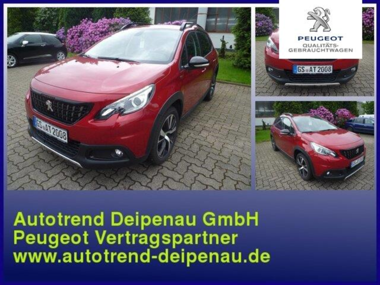 Peugeot 2008 GT Line Pure Tech 110 EAT6