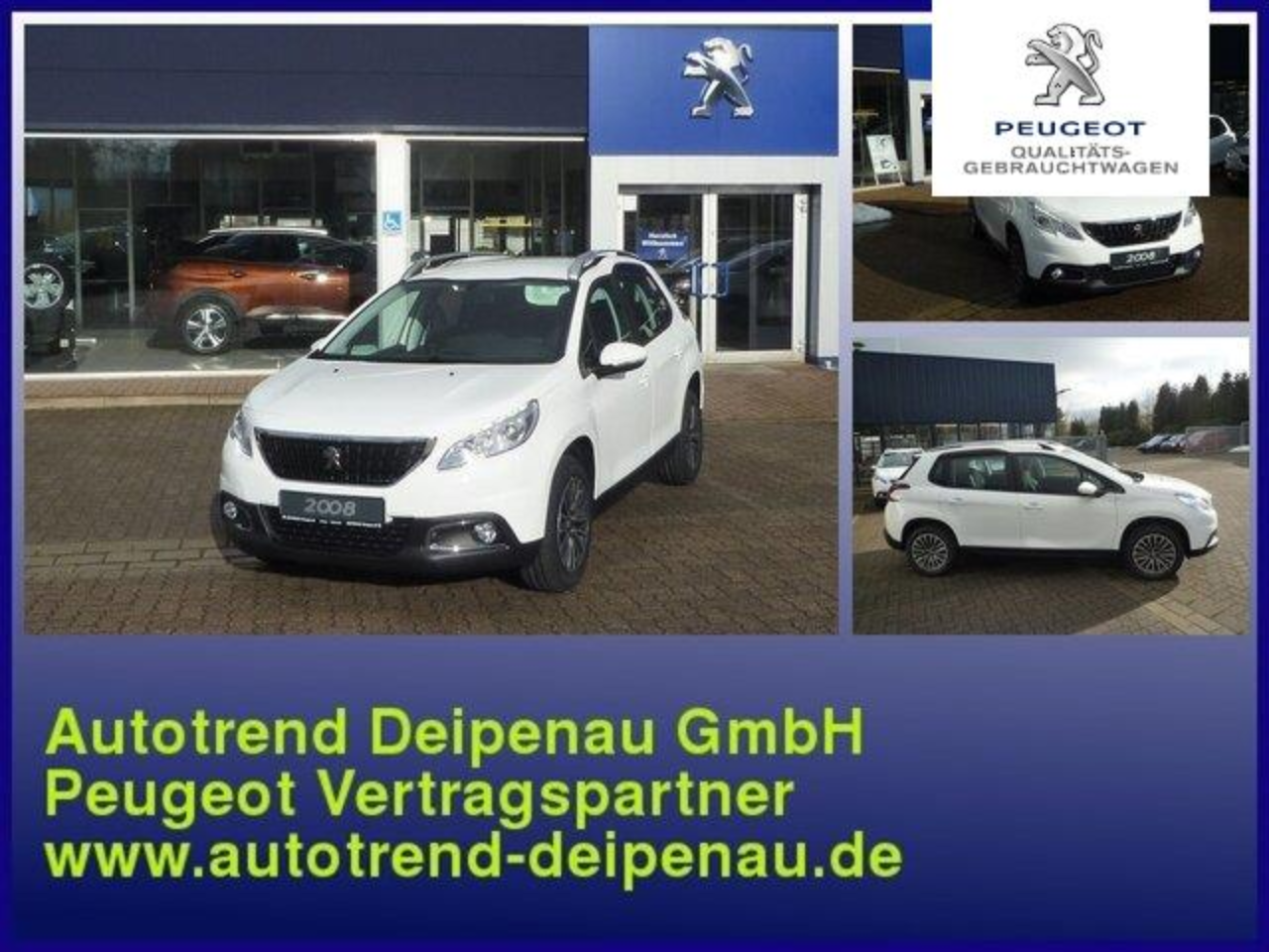Peugeot 2008 Active Pure Tech 110 incl. AHK