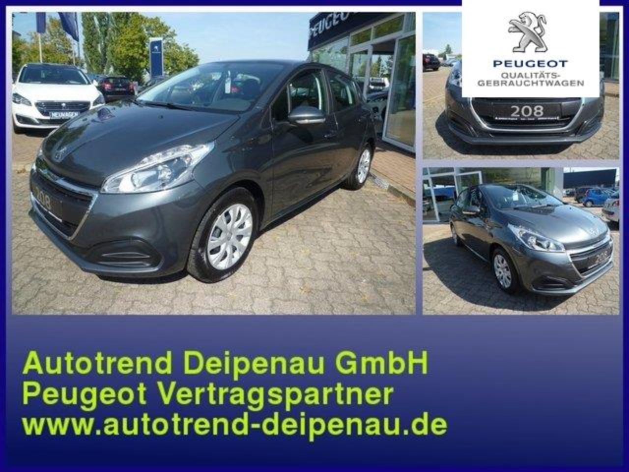 Peugeot 208 Active Pure Tech 82 5-Trg