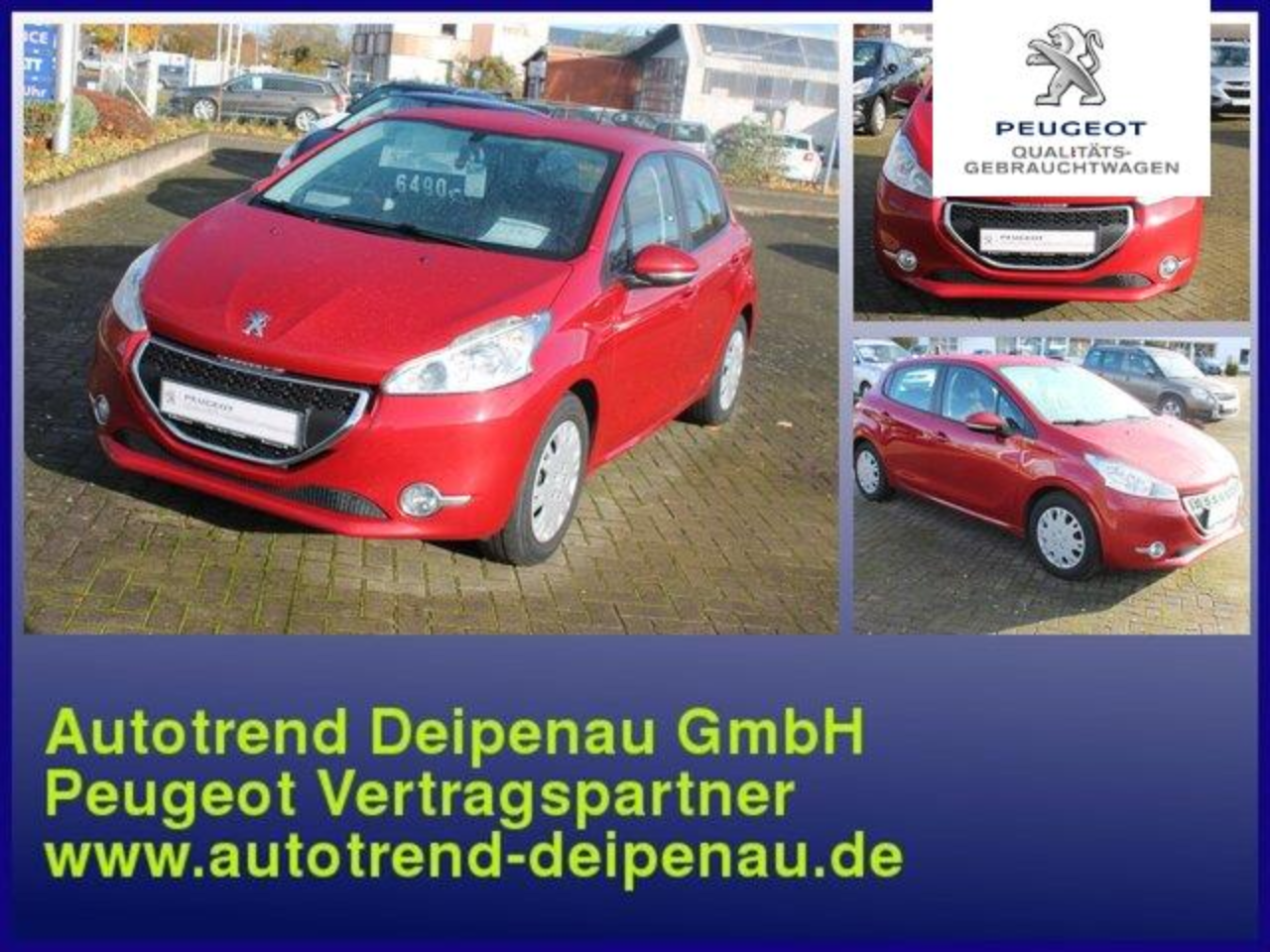 Peugeot 208 Active Pure Tech 82 5-Trg.