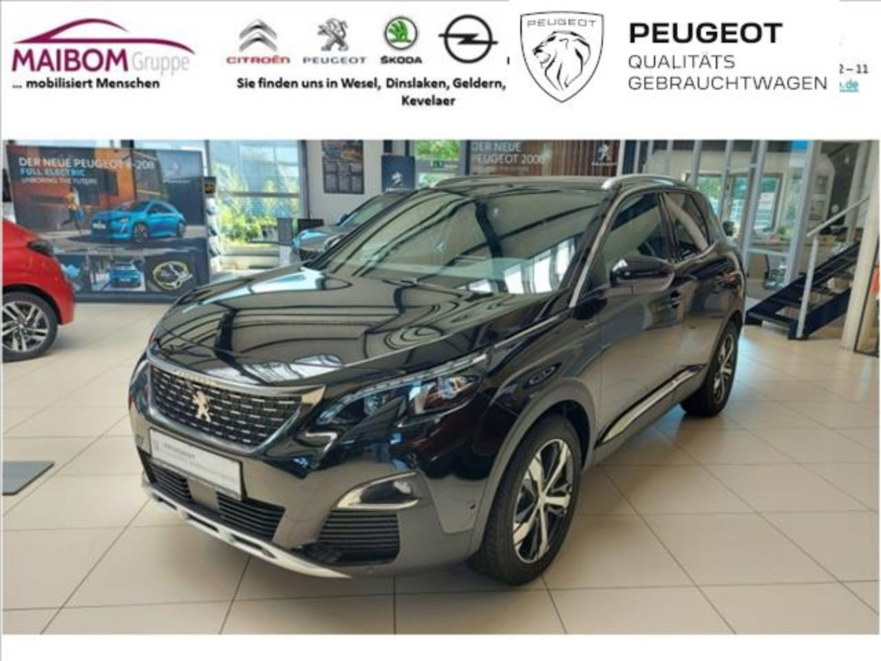 Peugeot 3008 PureTech 180 Stop & Start GPF EAT8 Allure