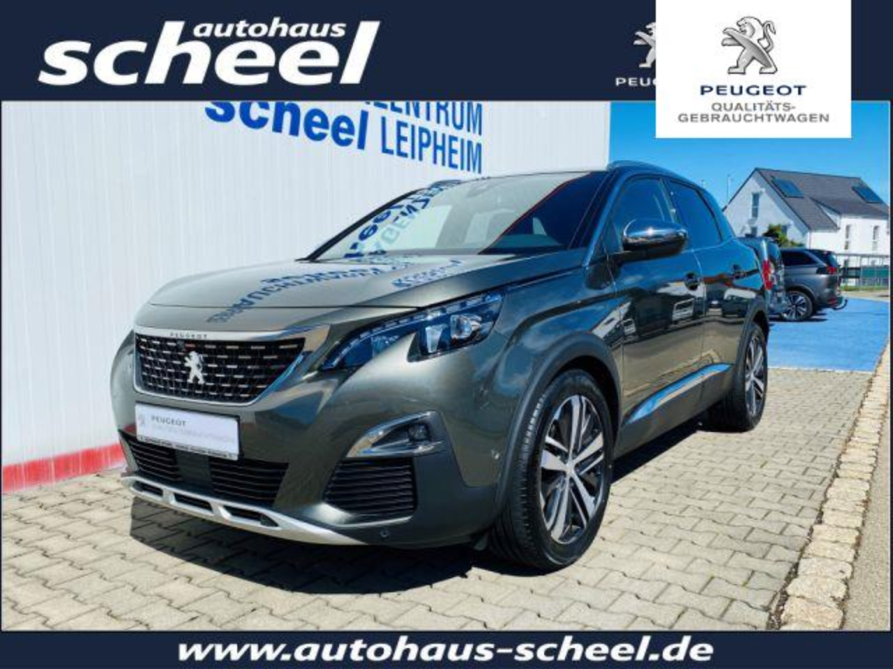 Peugeot 3008 BlueHDi 180 S&S EAT8 GT*PANO*ACC*LED*uvm.