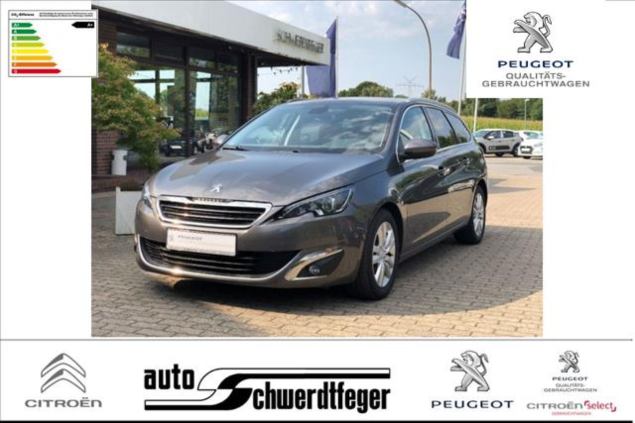 Peugeot 308 SW BlueHDi 120 EAT6 S&S Allure /Winterrader